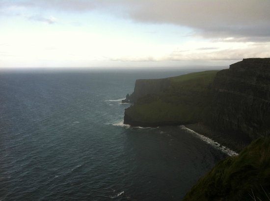 Atlantic Sunset Doolin: Cliffs of Moher