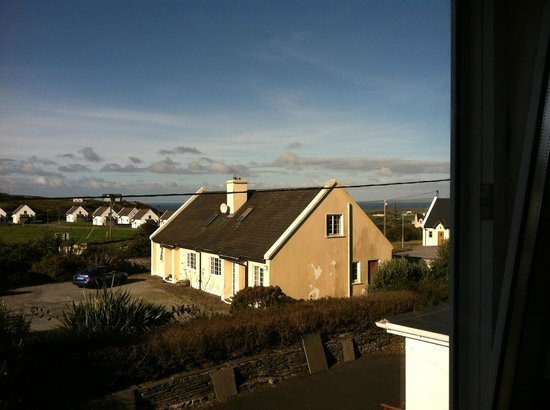 Atlantic Sunset Doolin : View from our room