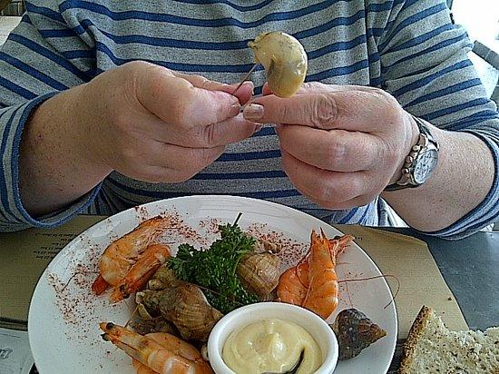 Restaurant La Table de Jeanne : Bulots Crevettes
