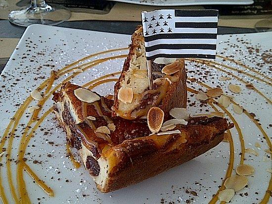 Restaurant La Table de Jeanne : Far pommes/pruneaux
