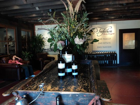 Trefethen Family Vineyards: Warm and Welcoming.