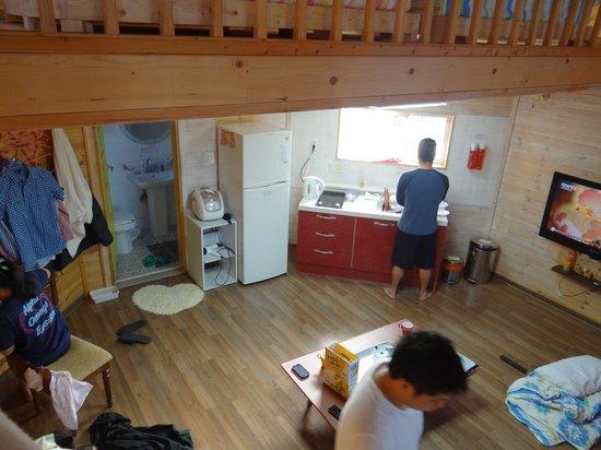 Polaris Pension: Bathroom/Kitchen on 1st floor