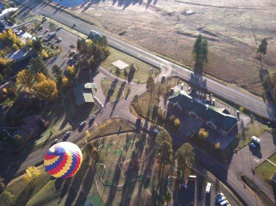 Rocky Mountain Balloon Adventures, LLC: 500 feet in the air