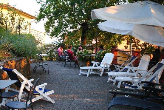 Hotel Bellavista: La terrasse