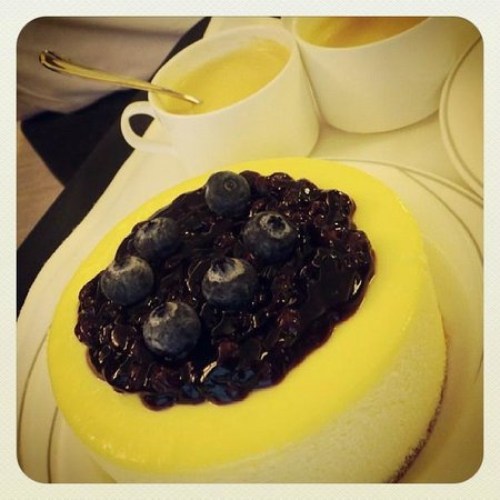 Royal Plaza Hotel Complimentary Birthday Cake Delivered To Our Room Early Morning Of My