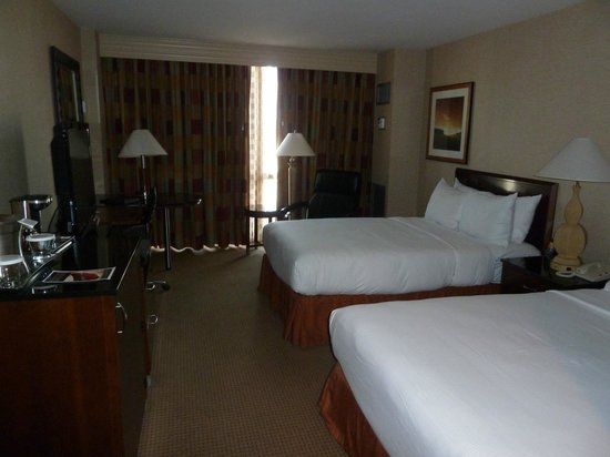 Hilton Chicago O'Hare Airport: Twin room