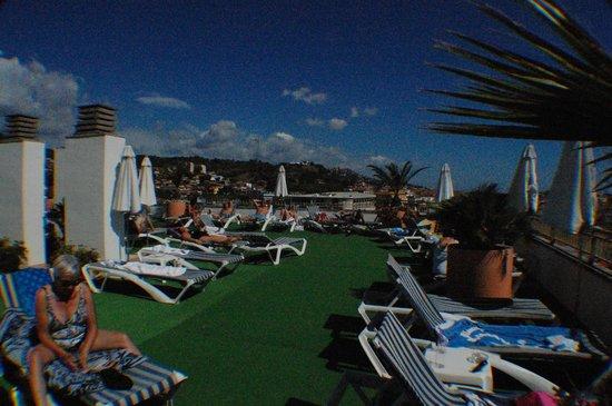 Hotel Merce: Bar deck