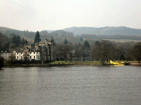 Cameron House Lodges: View from cruiser on Loch Lomond