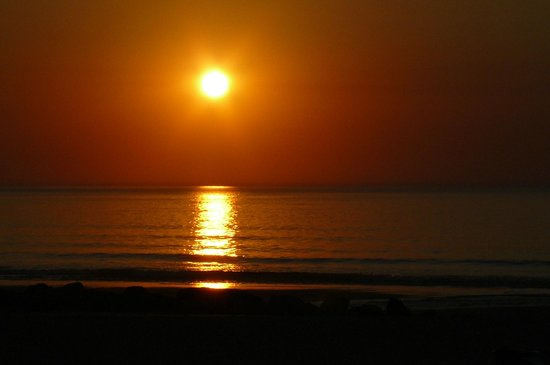 Bela Gorri - La voile rouge : le coucher de soleil à Bidart!!!!