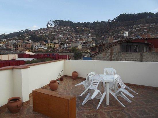Hotel Golden Inca: sacada superior