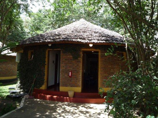 Ilboru Safari Lodge: Un des nombreux bungalows