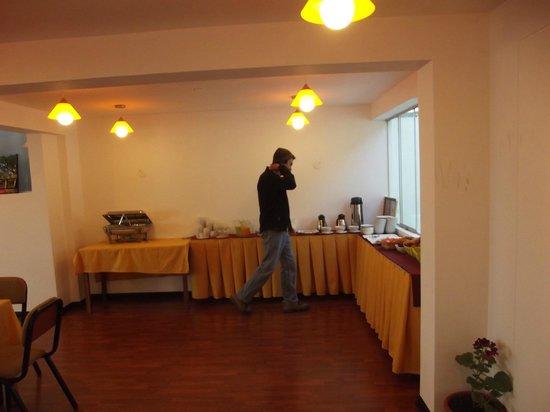 Hotel Golden Inca: café da manhã