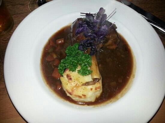 Quay 33 : lamb shank and dauphonise potatoes