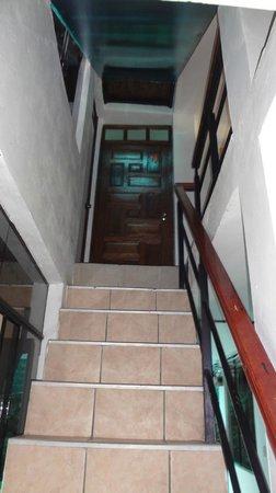 Ecopackers Machupicchu: Escalera de entrada