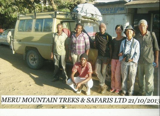Meru Mountain Treks and Safaris Ltd - Day Tours: Meru Treks Group Photo.