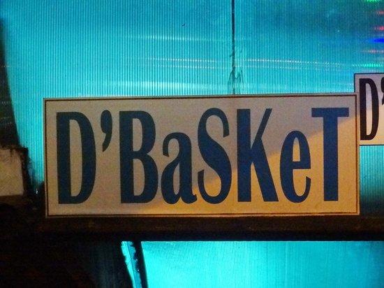 D'Basket: вывеска