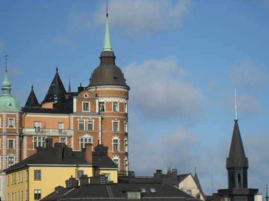 Hilton Stockholm Slussen: Part of the view from the room