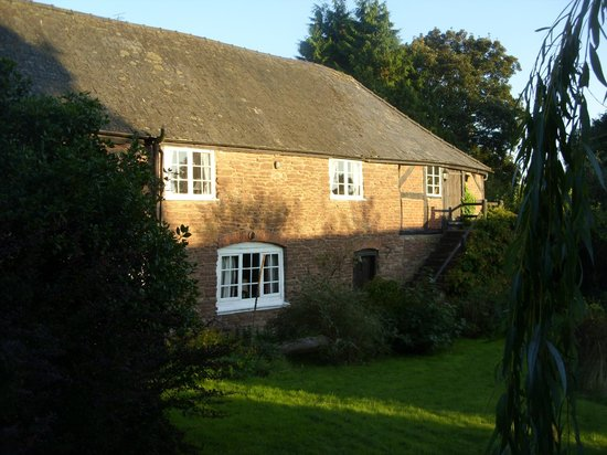 Lower Bache House: One of the guest rooms, on the first floor