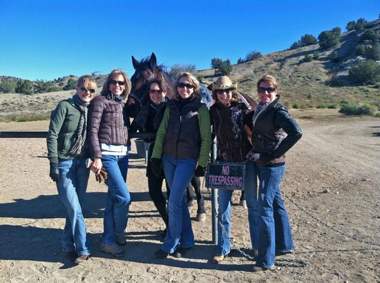 Broken Saddle Riding Company: These are all my sisters and me - Seattle, Kansas City, Scottsdale, Dallas, Santa Fe
