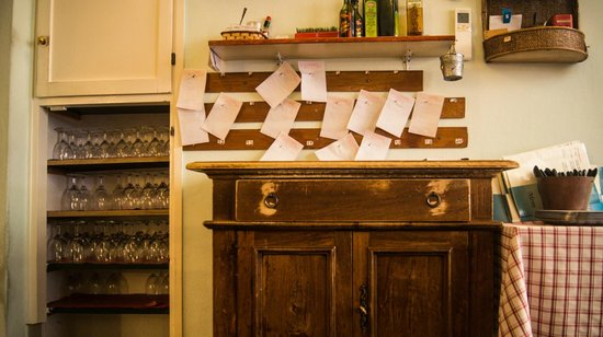 Da Nicola Ristorante Pizzeria: заказной стол