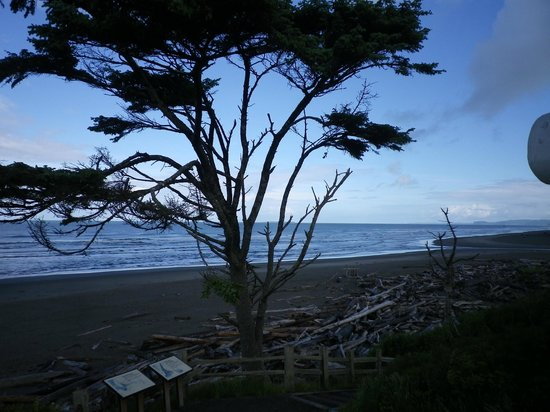 Kalaloch Lodge in Olympic National Park: beach view