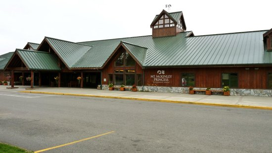 Mt. McKinley Princess Wilderness Lodge: Main Lodge Building