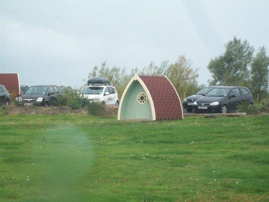 Stanley Villa Farm Camping: small games pod