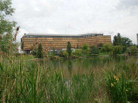 Novotel Paris Creteil Le Lac: Novotel domina a região