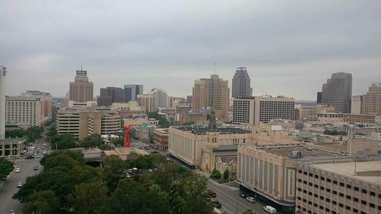 San Antonio Marriott Riverwalk: City view