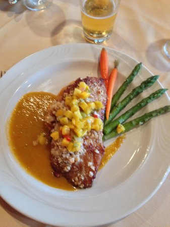 Sunset Grill Incorporated: Grouper, I think...delicious!