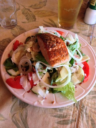Sunset Grill Incorporated: Atlantic Salmon salad