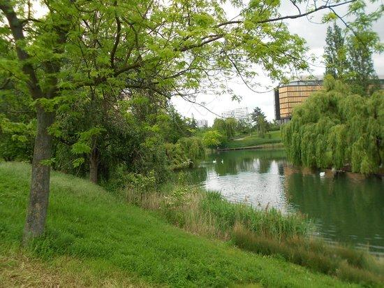 Novotel Paris Creteil Le Lac: linda vista do lago