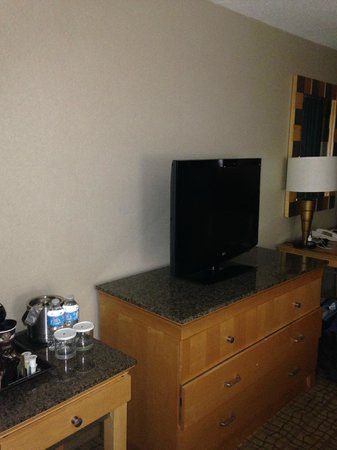Doubletree by Hilton Hotel Birmingham: Flat Screen Television