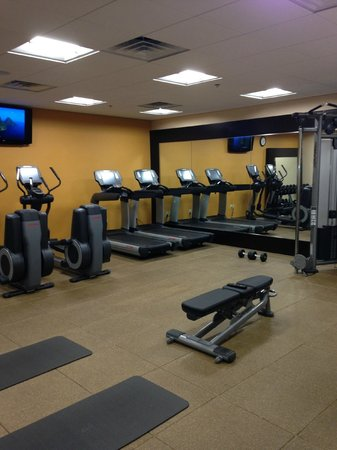 Doubletree Hotel Birmingham: Fitness Center