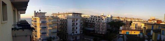Hotel Europa : il panorama dalla mia stanza 508