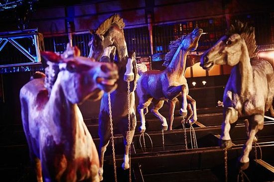The Horses On The Ceiling Picture Of Wildhorse Saloon