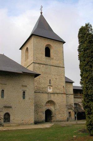 Dragomirna Monastery: Башня