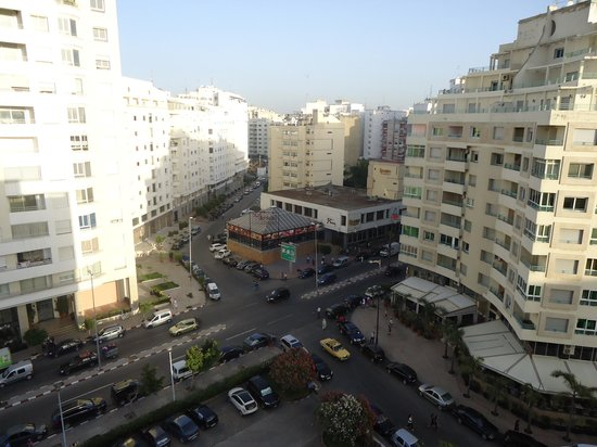 Atlas les Almohades Tanger: vista do quarto