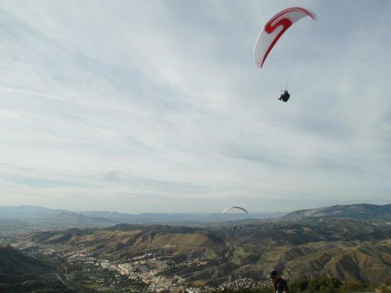 Andaventur: flying over Sierra Nevada