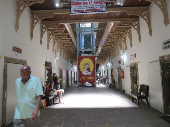 Pernambuco House of Culture: um dos corredores da Casa de Cultura