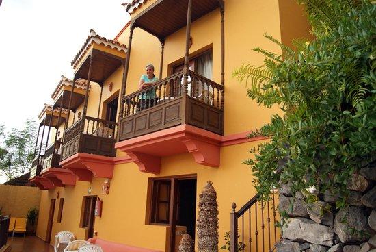 Hotel Jardin Concha: Balconada