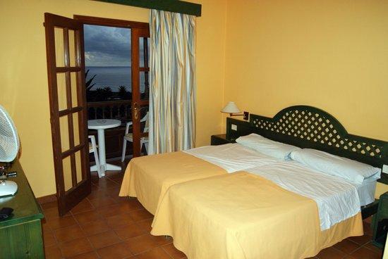 Hotel Jardin Concha: Vista desde nuestra habitacion