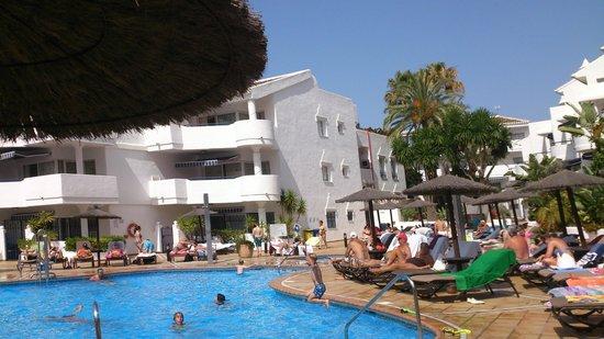 Sahara Sunset Club: большой бассейн
