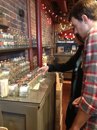 Maine Foodie Tours - Culinary Walking Tours: Checking Out The Spice Shop - First Stop