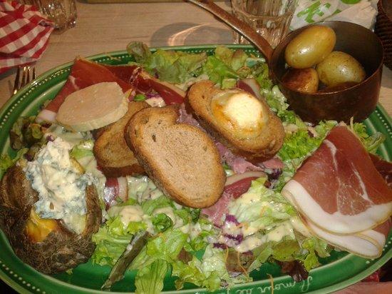 Amour de Pomme de Terre: Foie gras, canard, chèvre...
