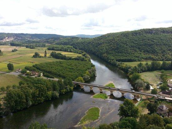 Maison de Marquay : Blick auf Dordogne