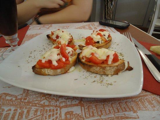 Caffe Bellini: antipasti