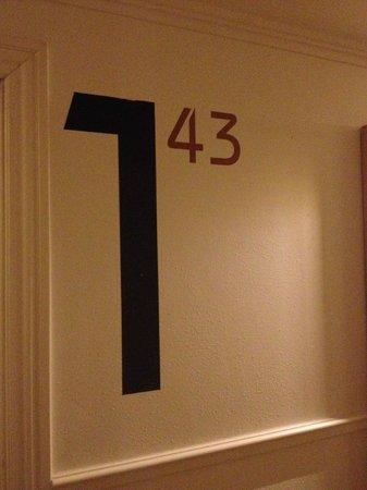 Carlton Guldsmeden - Guldsmeden Hotels: Room number/detail