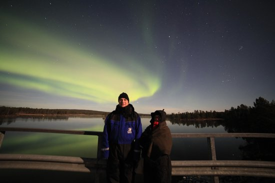 Nellim Wilderness Hotel : Aurora camp at Paatsjoki river