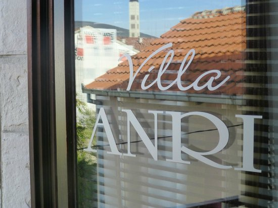 Villa Anri Mostar: view from my room